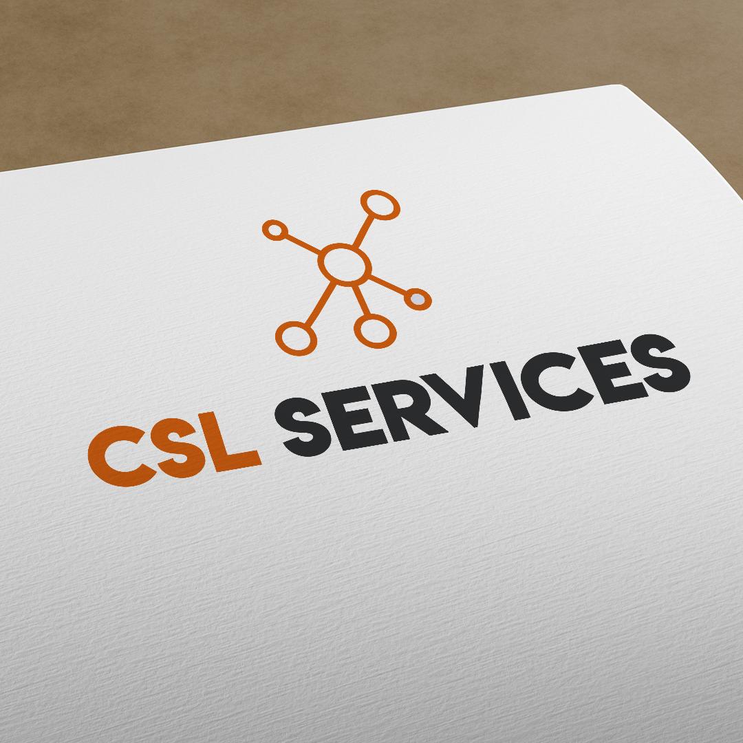 csl services brand mockup