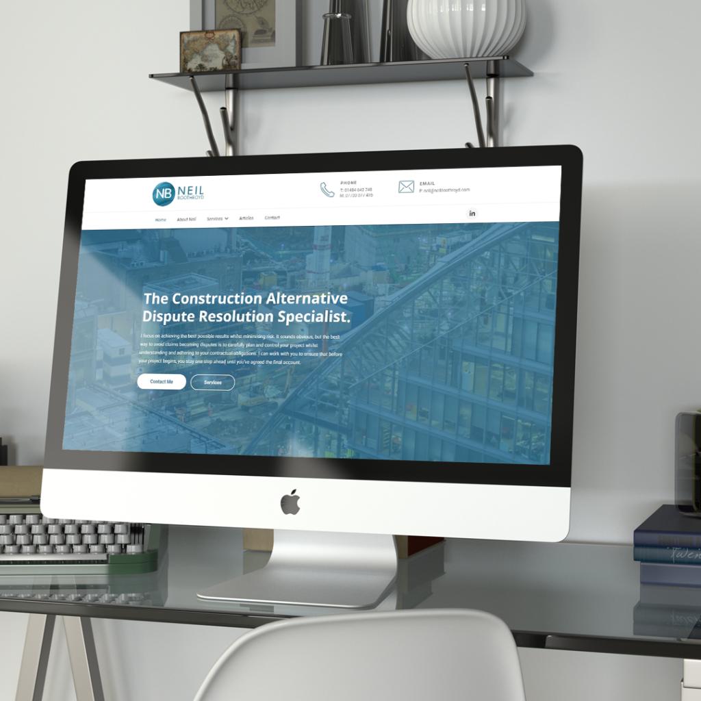 neil boothroyd website project by athena media web design huddersfield